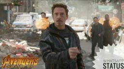 Marvel Studios' Avengers: Infinity War Official Whatsapp status