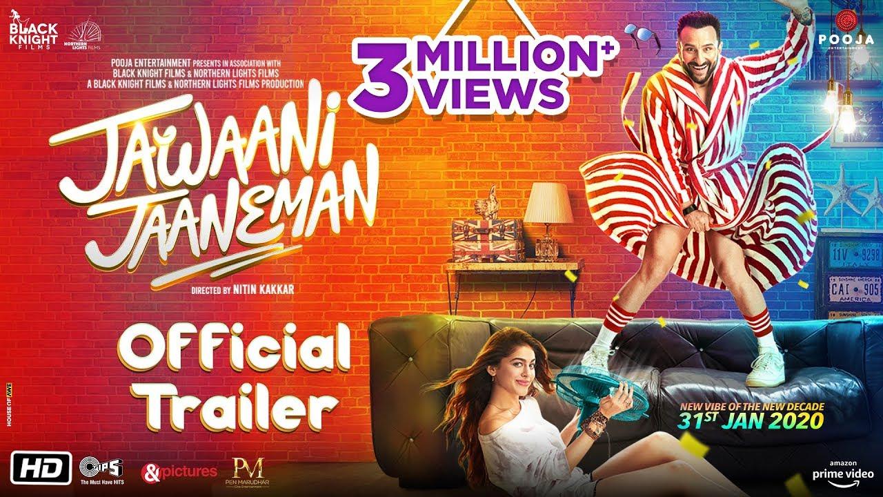 Jawaani Jaaneman Official Trailer Whatsapp Status