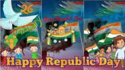 Republic Day Full Screen Status 26 January Mera Rang De Basanti Chola status download