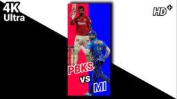 New PBKS vs MI full screen whatsapp status MI vs PBKS whatsapp status PBKS vs MI ultra HD status