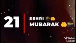 Ramzan ki 21 sehri Jumma Mubarak WhatsApp status Download