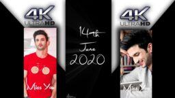 14th June 2020 Sushant Singh Rajput 4k Full Screen Status Full Screen 4k Status Download
