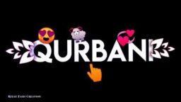 Qurbani Mubarak Eid Ul Adha WhatsApp Status Eid Ul Azha Mubarak Black Screen Download