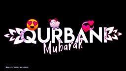 Qurbani Mubarak Leaf Lyrics Eid Ul Adha WhatsApp Status Eid Ul Azha Mubarak Black Screen Status Download